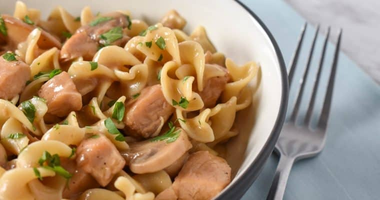 Chicken and Egg Noodles
