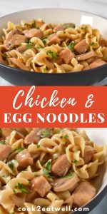 Chicken and Egg Noodles Pin