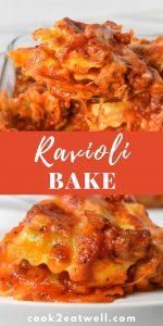 Ravioli Bake Pin Image