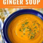 Carrot Ginger Soup Pin