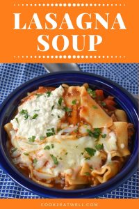 Lasagna Soup Pin Image