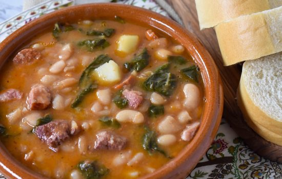 Cuban White Bean Soup (Caldo Gallego)