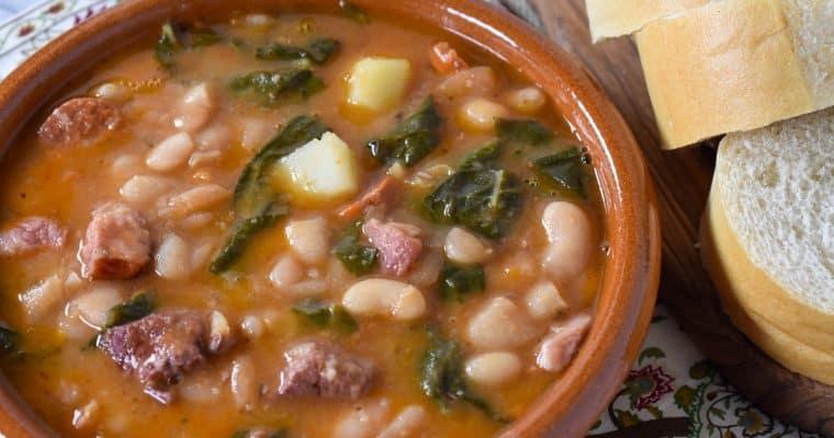 Cuban White Bean Soup (Caldo Gallego)