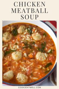 Chicken Meatball Soup Pin