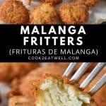 Malanga Fritters Pin