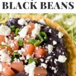 Refried Black Beans Pin