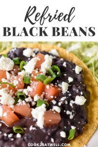 Refried Black Beans Pin