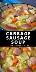 Cabbage Sausage Soup Pin