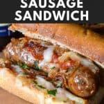 Italian Sausage Sandwich Pin