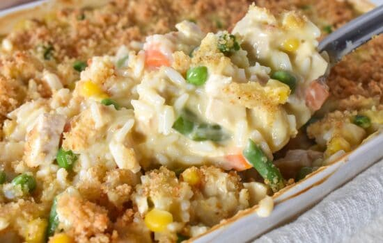 Creamy Chicken and Rice Casserole