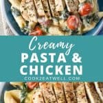 Creamy Pasta with Chicken Pin