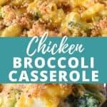 Chicken Broccoli Casserole Pin