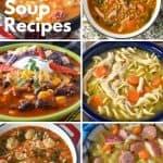 10 Comfort soup recipes pin