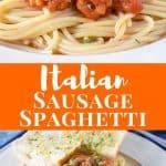 Italian Sausage Spaghetti Pin