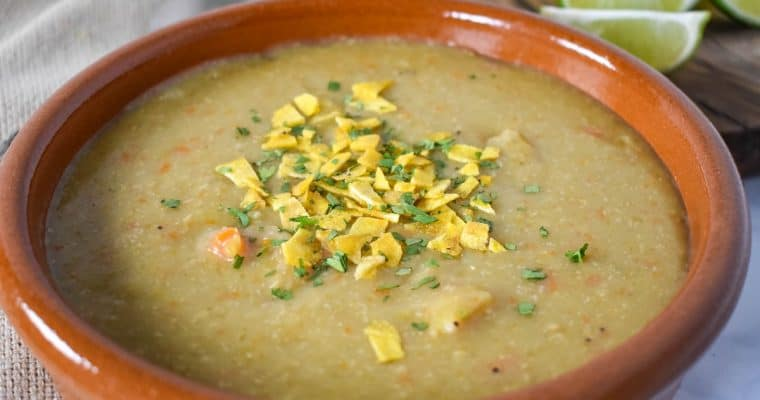 Sopa de Platano (Plantain Soup)