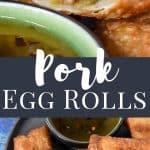 Pork Egg Rolls Pin