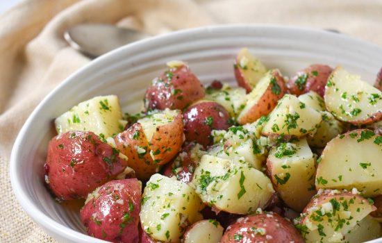 Garlic Parsley Potatoes