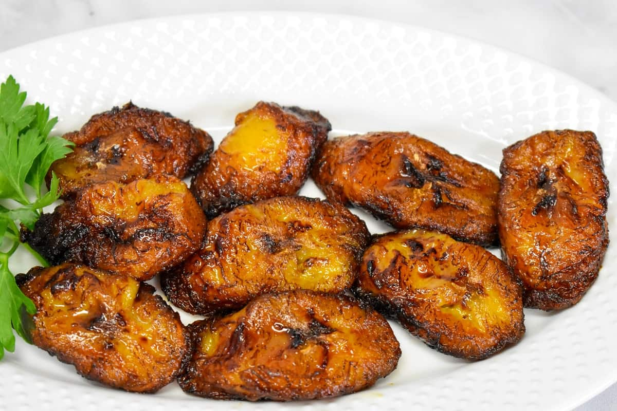 Fried Sweet Plantains Cook2eatwell