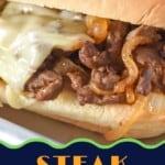steak sandwich pin