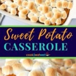 Sweet potato casserole pin